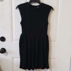 Zara Woman Black Sleeveless Dress